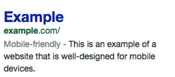 Mobile-friendly label