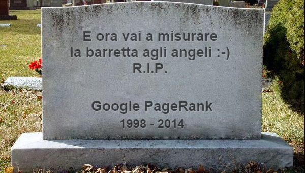 Il PageRank è morto