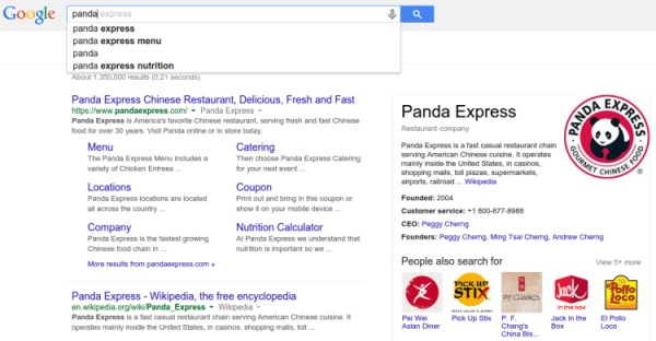 Google Suggest Panda