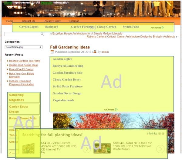 Una pagina di scarsa qualità, secondo Bing