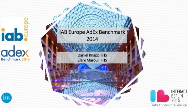 IAB Europe AdEx Benchmark 2014