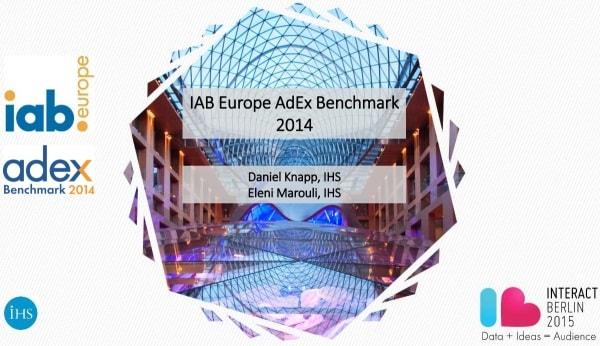 IAB Europe AdEx Benchmark 2014