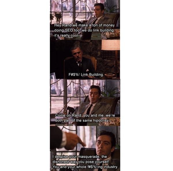Lo scambio di battute da Michael Corleone e il senatore Geary