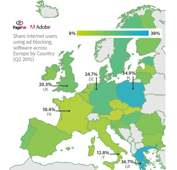 Uso di AdBlock in Europa