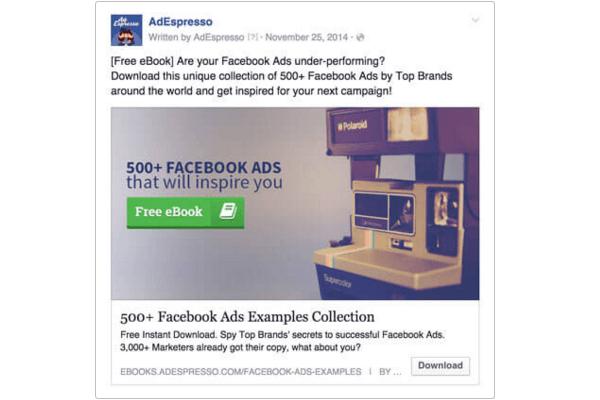 L'ebook gratuito di AdEspresso