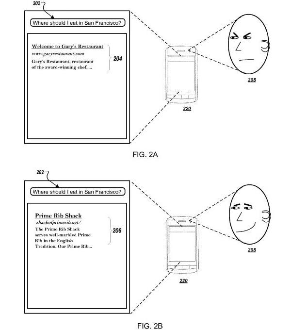 Il brevetto di Google riguardante l'espressione del volto