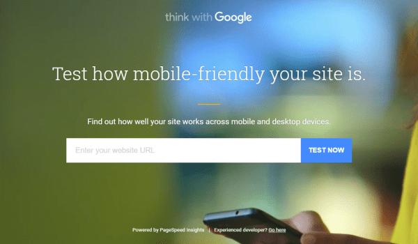 Il nuovo tool di Google per testare il Mobile Friendly