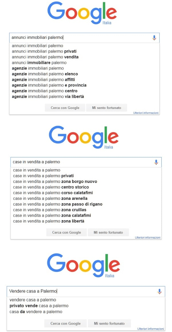 Keyword Research con Google Suggest