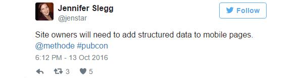 Rimetti i dati strutturati nelle pagine mobile!