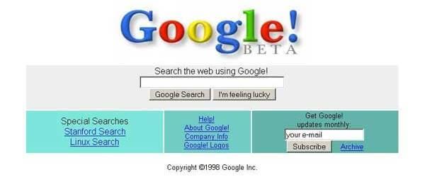 Il vecchio Google