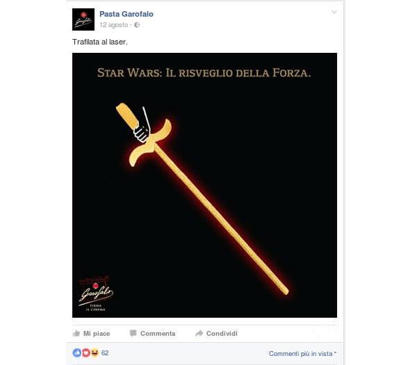 La Pagina Facebook della Pasta Garofalo
