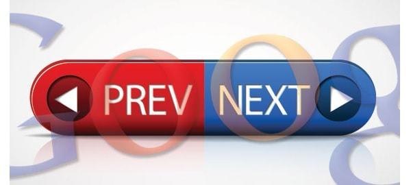Paginazione rel=prev rel=next