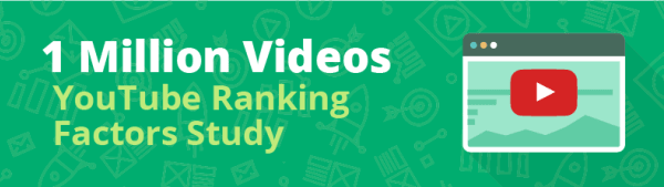 I fattori di posizionamento su YouTube, secondo Backlinko