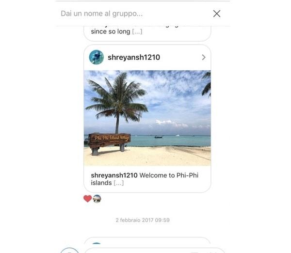 Commenti su Instagram