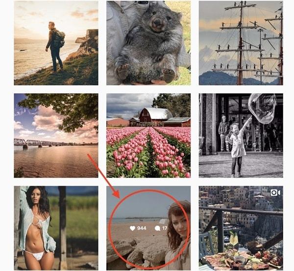 Profili popolari su Instagram