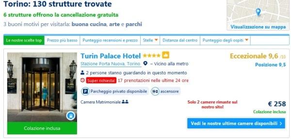 La persuasione utilizzata da Booking.com