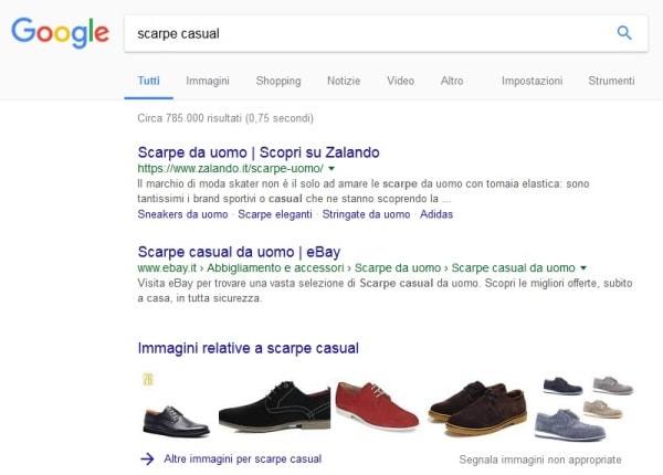 Scarpe casual