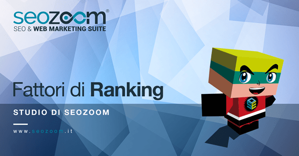 Fattori di Ranking del 2018, secondo SEOZoom