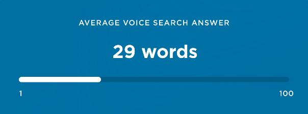 Numero medio di parole
