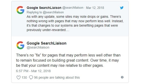 Google Core Update come uscirne