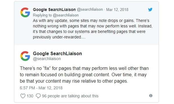 Google Core Update come uscirne
