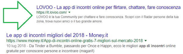 Query app incontri