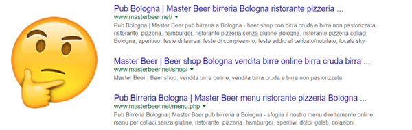 Query pub bologna