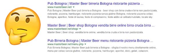 Query pub bologna