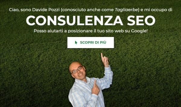 Restyling della home page del TagliaBlog