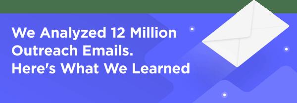 Studio sull'Email Outreach di Backlinko
