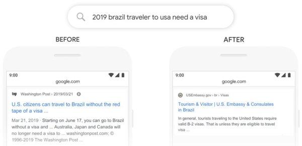 Google BERT - primo esempio