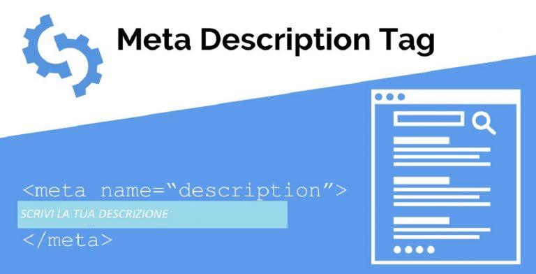 Seo on page meta description