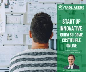 Come costituire una start up innovativa